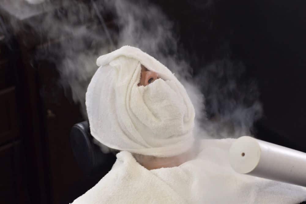 منشفة للإحماء قبل تكبير الذكر باليد