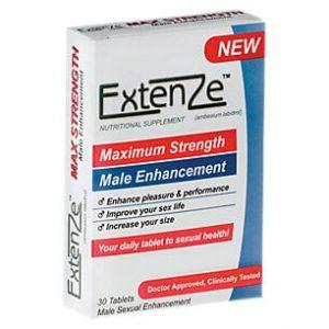 Extenze من اسماء ادوية سرعة القذف